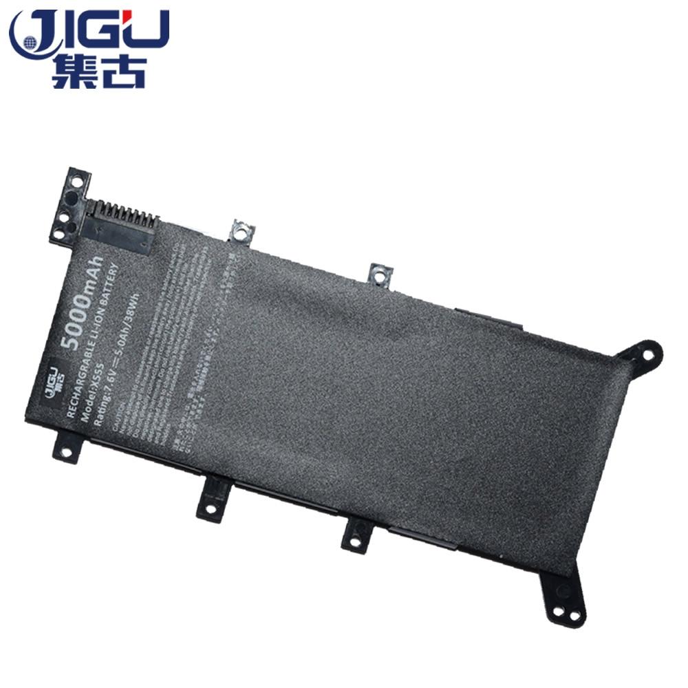 JIGU Laptop Battery 2ICP4/63/134 C21N1347 For ASUS A555L F555LN K555LB K555LJ X555 X555LA X555LF X555LI X555UA X555UB X555YA все цены