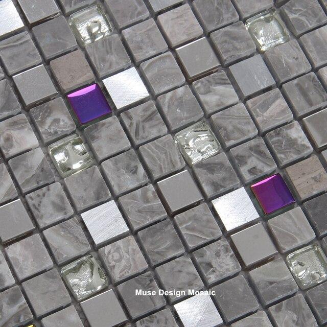 Piastrella Mosaico. Cheap Mosaici Per Cucina Piastrelle Di Vetro ...