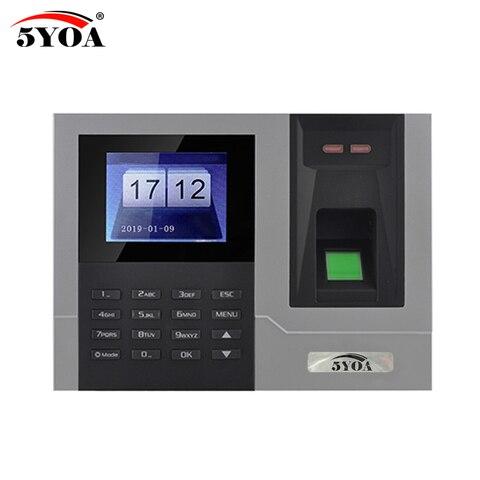 AT608 Tcp IP RJ45 Biometric Fingerprint Time Attendance Clock Recorder Employee Recognition Device Electronic Machine Pakistan