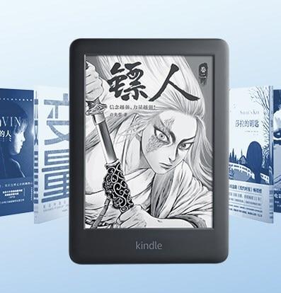 Ebook kindle Original 6 pouces 2019 nouvelle version e-ink lecteur mise à niveau eBook avec rétro-éclairage e-book écran tactile wifi ereader