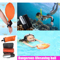 Wristband Wearable Water Safety Protect Wrist Life Buoy Escape Float Lifesaving Ball Self Rescue Bracelet Balloon for Swimming