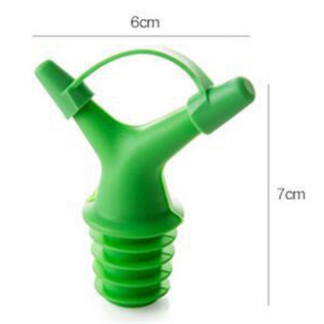 Silicone Hole Bottle Stopper