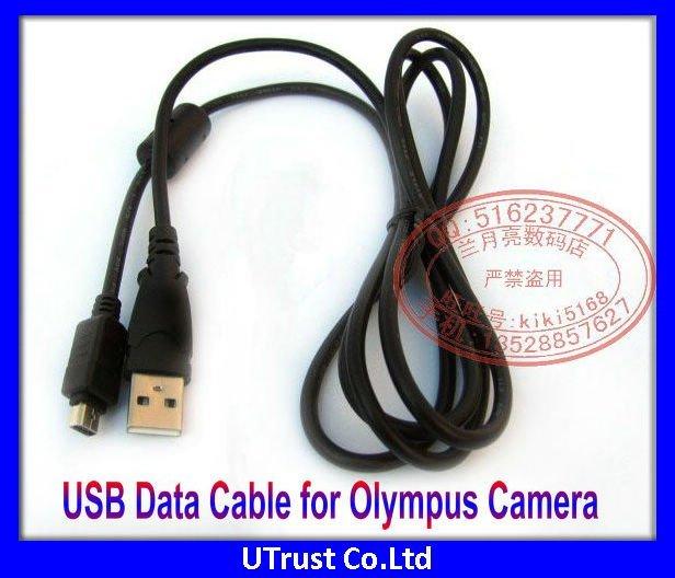 Free shipping New 12 Pin USB Digital Camera Cable for Olympus Cameras U500 U550 U600 U700 U710 U720SW U725SW