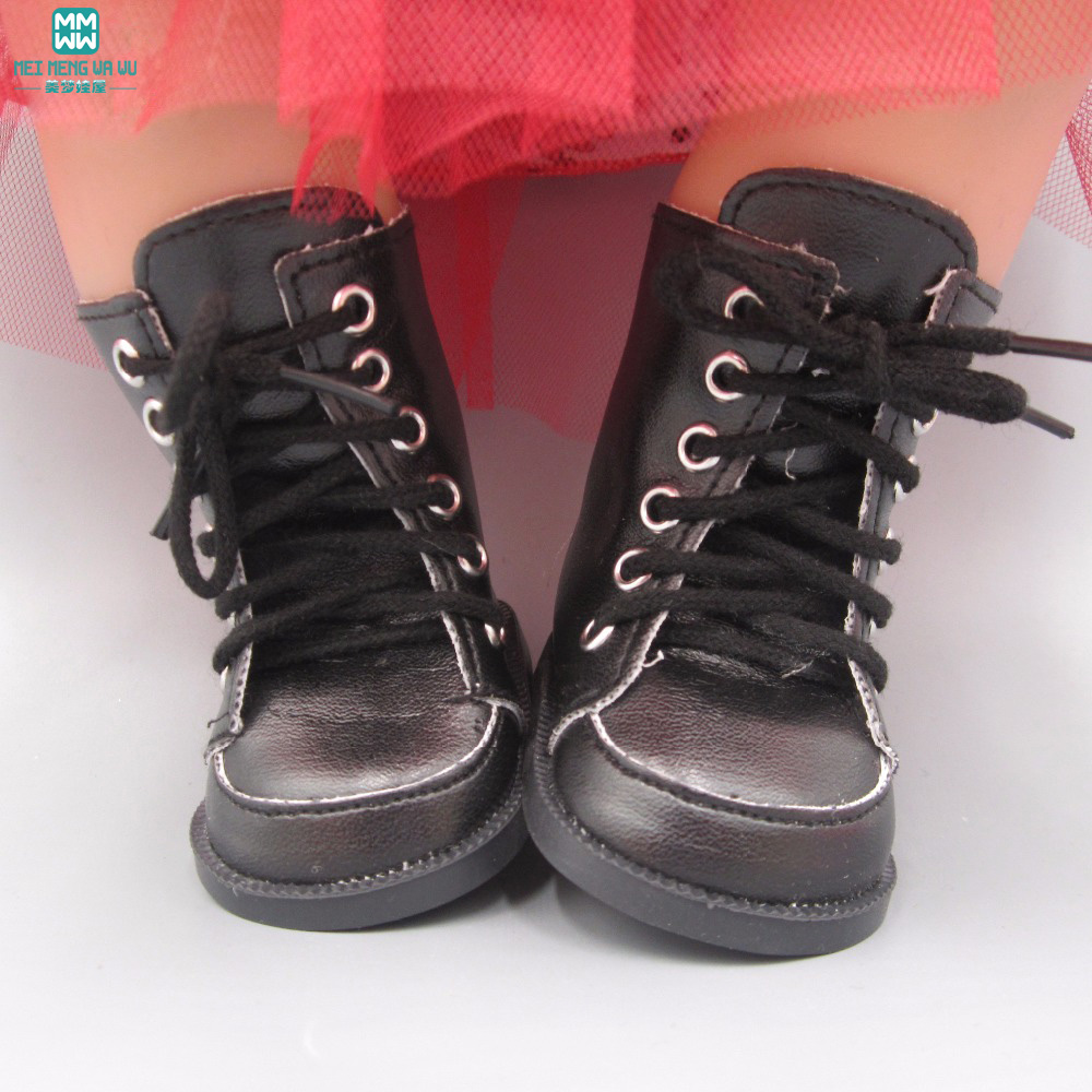 Dolls Clothes For 43-45cm New Born Doll Accessories And American Doll Leather Boots Dresses Urine Is Not Wet