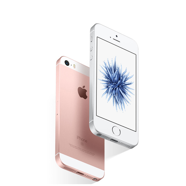 """Original Unlocked Apple iPhone SE 4G LTE Mobile Phone 4.0"""" 2G RAM 16/64GB ROM iOS Touch ID Chip A9 Dual Core 12.0MP Smartphone 5"""