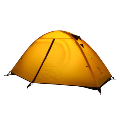 Hillman super light aluminum pole double layer outdoor mountain camping tent single person anti-storm high quality tent