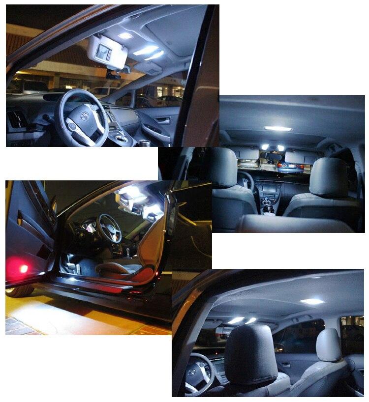 10X 12V 31//36//39//41MM C5W COB LED Car Festoon Dome License Plate Light Bulbs NEW