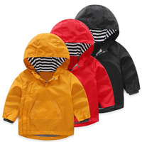 New arrival boy jacket warm outwear winter coat boys kids jacket thick baby boys winter jacket for boy hooded Trench 2-8 Years