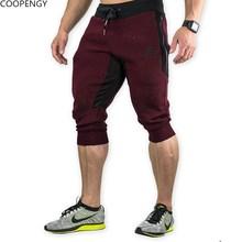 2018 NEW Summer Brand Mens Jogger Sporting Thin Shorts Men Black Bodybuilding Short Pants Male Fitness