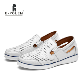 2017 Spring Autumn New Arrival Genuine Leather Height Increasing Men Shoes Male Business Casual Breathable Comfortable Shoes