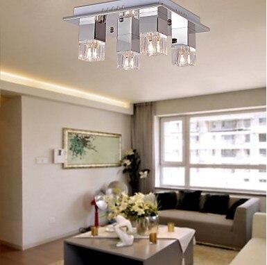 Montaggio a filo Lampada Moderna del Soffitto LED Con 4 Luci Per Soggiorno Illuminazione Domestica, Luminaira Lamparas De Techo TetoMontaggio a filo Lampada Moderna del Soffitto LED Con 4 Luci Per Soggiorno Illuminazione Domestica, Luminaira Lamparas De Techo Teto