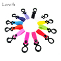 LARATH 2pc/lot Multifuctional Multi Colors Baby Stroller Hook Stroller Accessories Hook Clips Hanger for Pram Baby Carriage