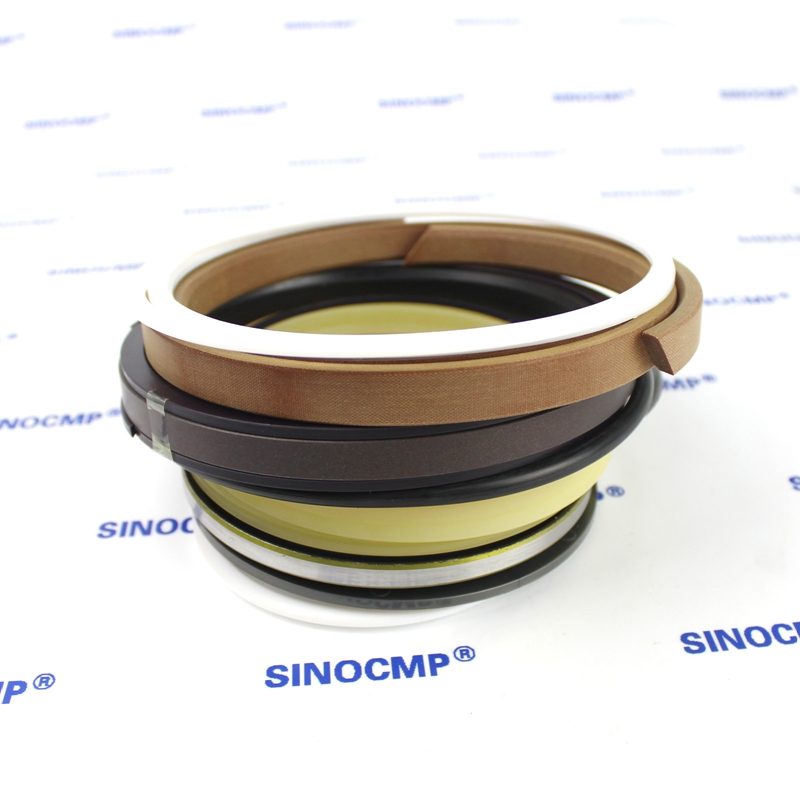 2 sets For Hyundai R110-7 R110LC-7 Boom Cylinder Repair Seal Kit 31Y1-23390 Excavator Service Kit, 3 month warranty 2 sets for hyundai r180lc 7 boom cylinder repair seal kit 31y1 20430 excavator service kit 3 month warranty