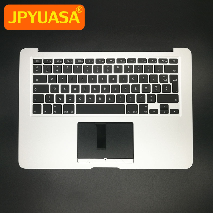 New TopCase with AZERTY FR French Keyboard For MacBook Air 13 3 A1466 Top Case Keyboard
