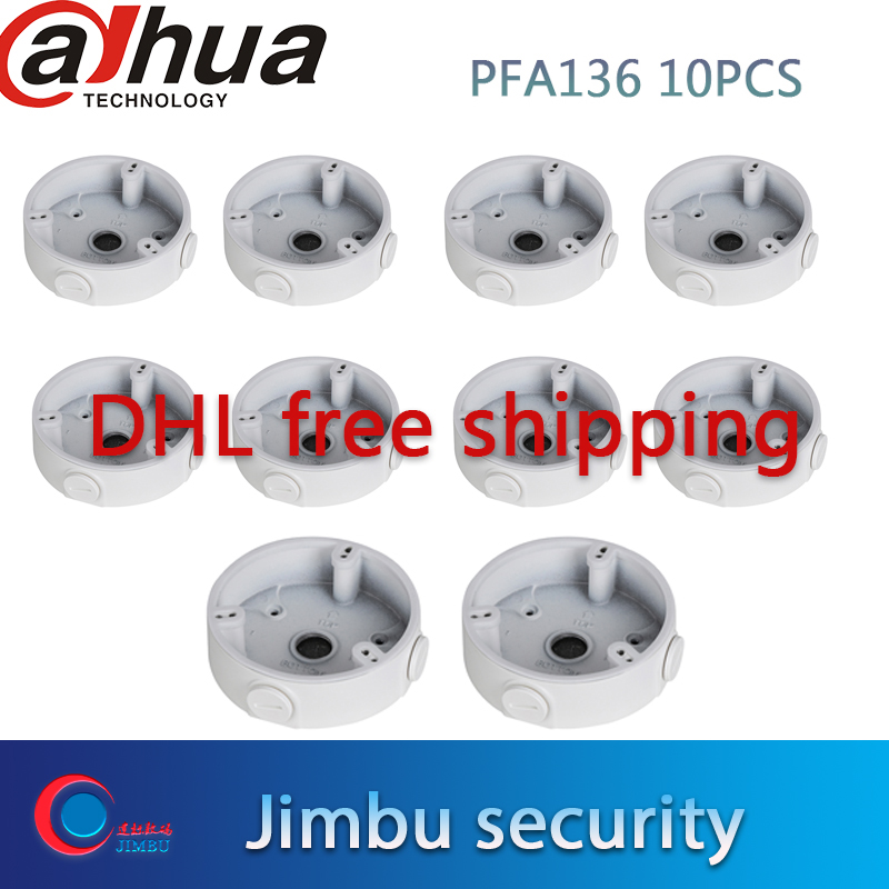 dahua camera support PFA136 10 PCS Water proof Junction Box Compatible Body Type IP dome camera