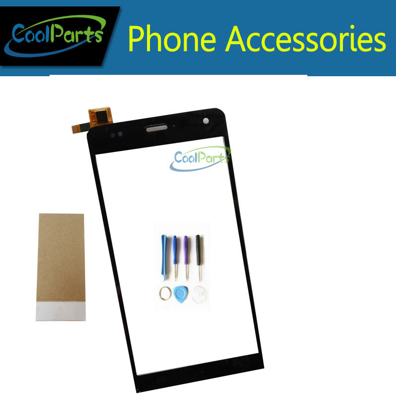 1PC Lot Black Color High Quality For Wiko Getaway Touch Screen Digitizer  Glass Panel Replacement Part with Tools Tape glue e12282cf49a3