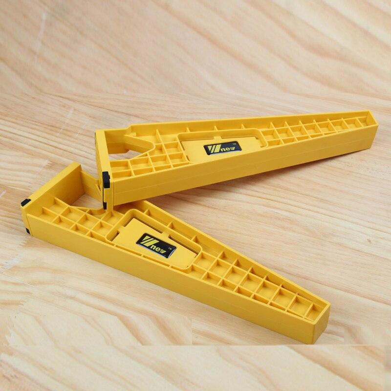 Hogar Inteligente 1 Unidades = 2 piezas cajón instalación plantilla carpintería herramientas de apoyo