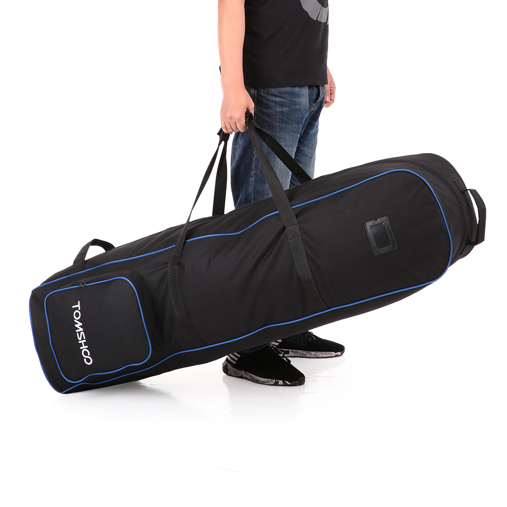 2018 Tomshoo Golf Bag With Wheels Large Capacity Storage Practical Case Foldable Airplane Travelling Bags Carrier From Cutport Price