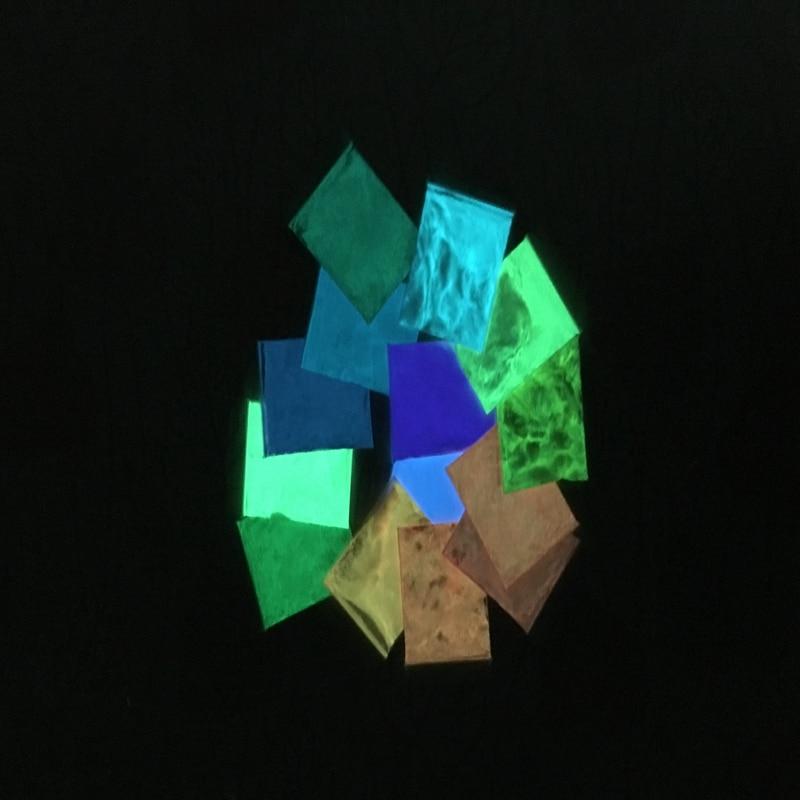 Glow In Dark Pulver Staub 10 Gr/beutel Die Neueste Mode Himmelblau Farbe Photolumineszierende Pulver Leucht Phosphor Pigment Für Diy Farbe Drucken Nails Art & Werkzeuge