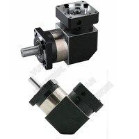 12 15 20 50 100 :1 Corner Right Angled Planetary Reducer Gearbox Reversing Reducer for NEMA24 60mm 200W 400W 600W Servo Motor