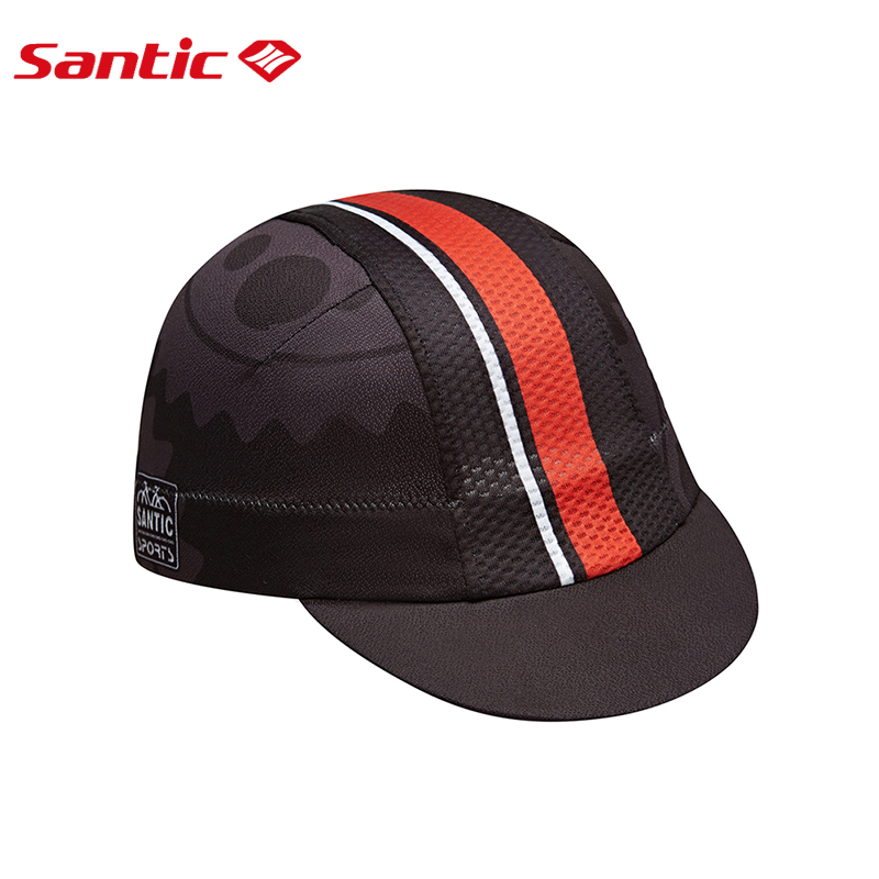 Santic Men Outdoor Cycling Sun Protective Hat Sunscreen UV Cap One Size 2 Colors