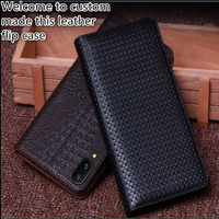 RL04 Genuine Leather Phone Cover With Kickstand For Xiaomi Redmi 6 Pro(5.84') Phone Case For Xiaomi Redmi 6 Pro Flip Cover Case