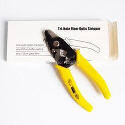Free Shipping High Precision F11301T Tri-Hole Fiber Optic Stripper 3 Hole Jacket Fiber Optic Strippers