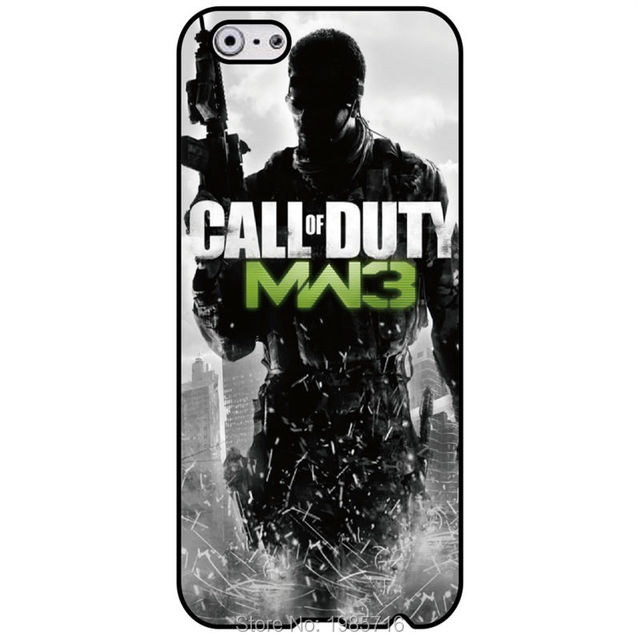 Call Of Duty Modern Warfare 3 Wallpaper Protection Hard Back Cover For Iphone 4S 5 5S