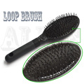 Loop Hair Comb Brush Black Wig Combs For Wig Cap Comb Hair Extensions Weave Brush