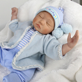 "22"" Dolls Model Toys Silicone Vinyl Reborn Newborn Baby Model Lovely Baby Model NPKDOLL 55cm Gifts Collections"