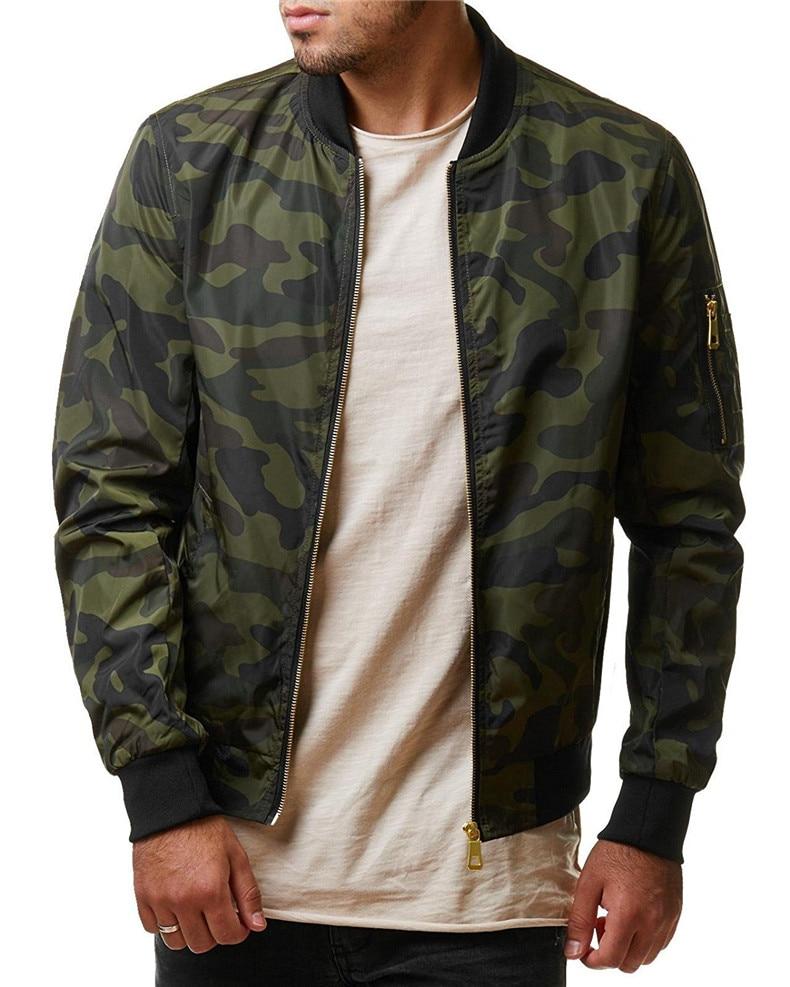 7XL Jackets Men 2019 Camouflage Jacket Male Coats Camo Bomber Mens Jacket Brand Cloth Outwear Baseball Collar Plus Size 5XL 6XL 05