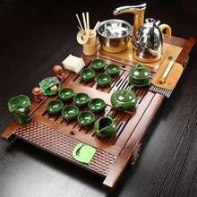 Чайный сервиз в китайском ретро стиле полный набор чайного столика