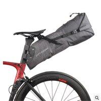 Mountainpeak 자전거 가방 방수 대형 Cpacity 뒷좌석 운반 가방 중간 거리 도로 산악 자전거 승마 장비