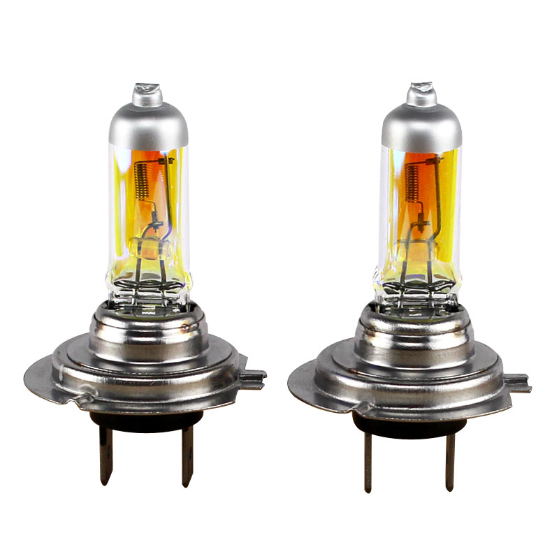 XENCN 12V 2300K Golden Eyes Super Xenon Yellow Bright Car Halogen Headlights Off Road Used Car