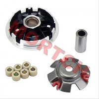 Chinese scooter GY6 parts 152QMI GY6 125cc 150cc Racing Variator Set for Chinese Scooter ATV Go Karts Moped