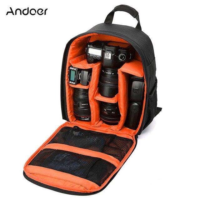 Wielofunkcyjny Aparat Plecak Wideo Cyfrowe DSLR Torba Wodoodporna Na Zewnątrz Aparat Fotograficzny Torba Case dla Nikon/dla Canon /DSLR
