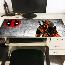 Mairuige Top Quality Deadpool High Speed New Mousepad Large Gaming Mouse Pad Lock edge Mat Keyboard 900*400*3MM