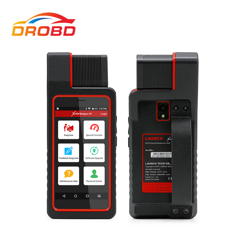 Orignal Launch X431 Diagun 4 Full System Diagnotist Tool X431 Diagun IV Yellow Box Code Scanner Free Update Online