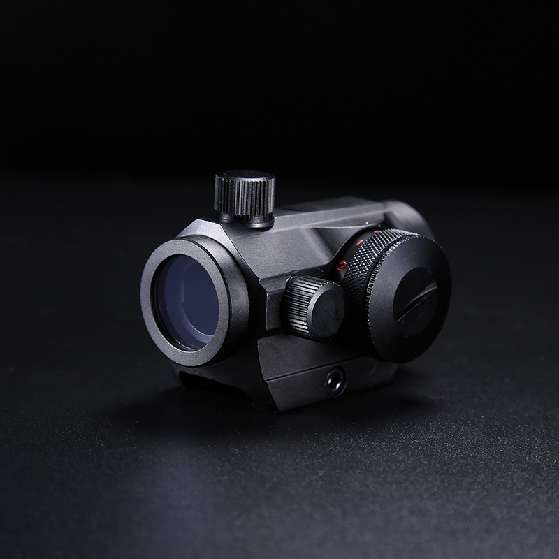 Red & Green Dot Scope Tactical Caccia Holographic Sight per Colpo di Pistola Airsoft 20mm Rail Mount Visori Caccia Ottica