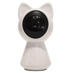 Nice And Cute Look Wireless Smart Home Security 1080P 2Mp Mini Cat Baby Monitor(Eu Plug)