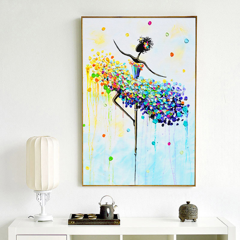 Able Ballerina Diamond Embroidery Paint Diamond Cross Stitch Full Round Mosaic House Decor Buy One Get One Free Back To Search Resultshome & Garden