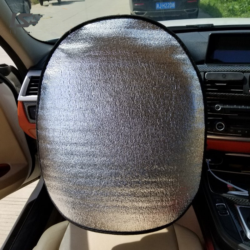 New Car Steering Wheel Shade Cover Sunshade Reflective Sun Protection Protector
