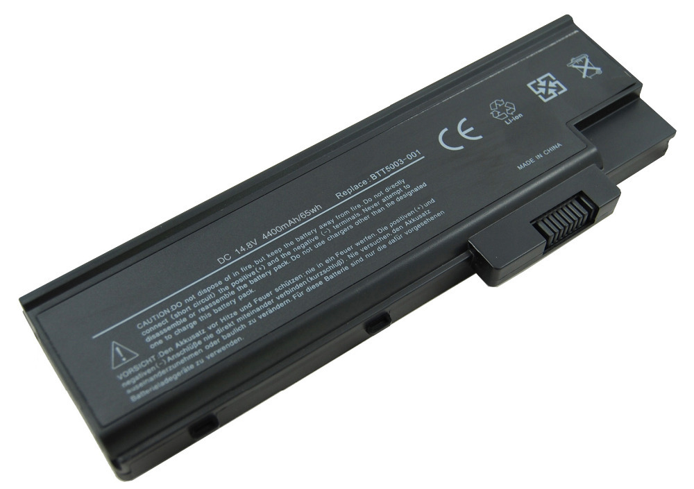 LMDTK 8 ячеек Аккумулятор для ноутбука acer TravelMate 4000 4100 4020 4500 серии 4UR18650F-2-QC140