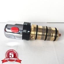 Freies Verschiffen thermostatventil wasserhahn patrone mit griff für bad mischbatterie dusche mischventil CA05TA