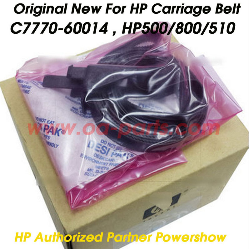 ФОТО 5X Original New For HP500 HP800 HP510 HP 500 800 510 Carriage Belt  OEM#: C7770-60014 42inch Plotter parts