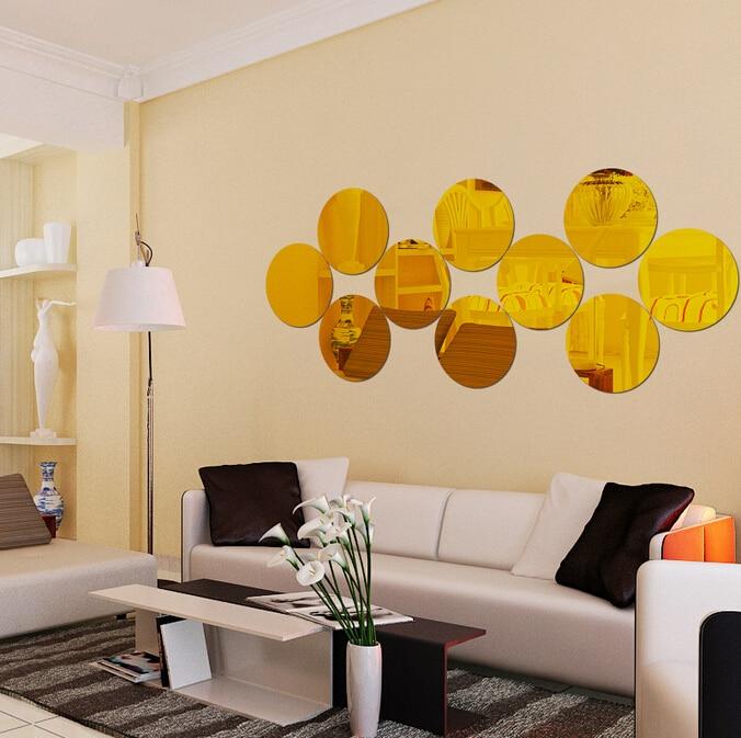 Generous Mirror Wall Decor Contemporary - Wall Art Design ...