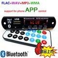Bluetooth 4.0 MP3 Декодирование Доска Модуль digita заполняется 12 В APE FLAC ДЭ WAV Декодер Mp3-плеер AUX Fm-радио Телефон app управления