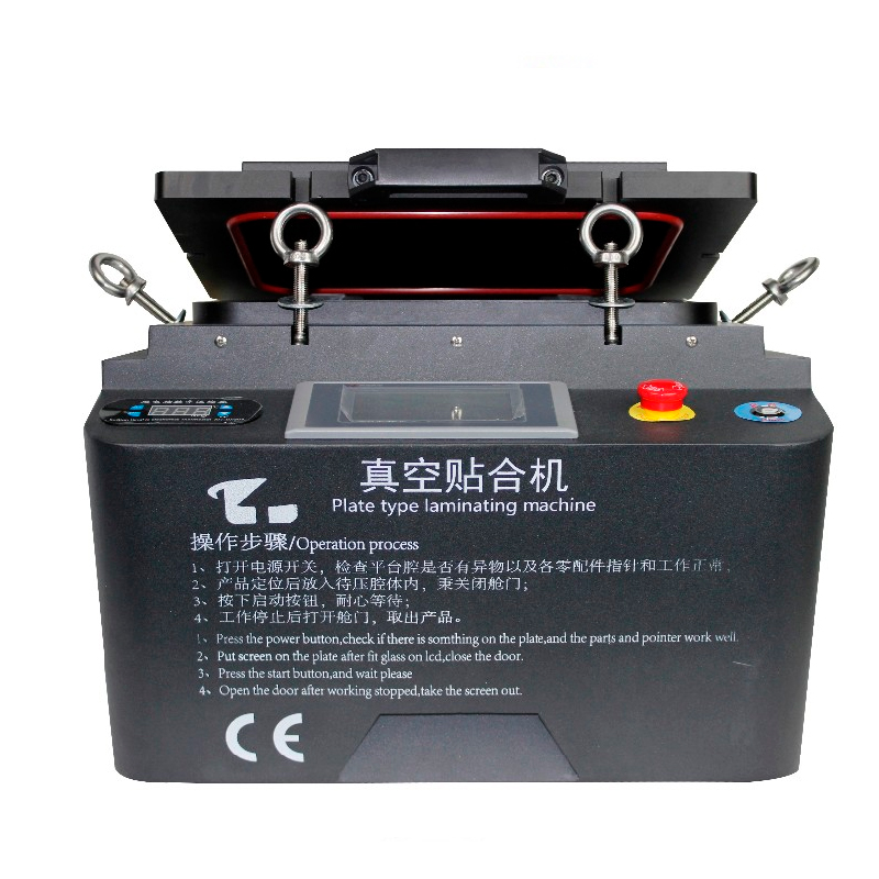 Newest Vacuum OCA Laminating Machine with Built-in Pump and Compressor No Bubbles No need Autoclave Air Bubble Removing Machine цена