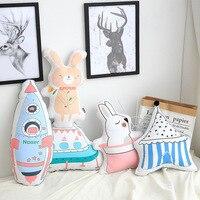 Simple modern sofa cushion cartoon cushion pillow Creative Birthday Gift backing block cojines decoración del hogar