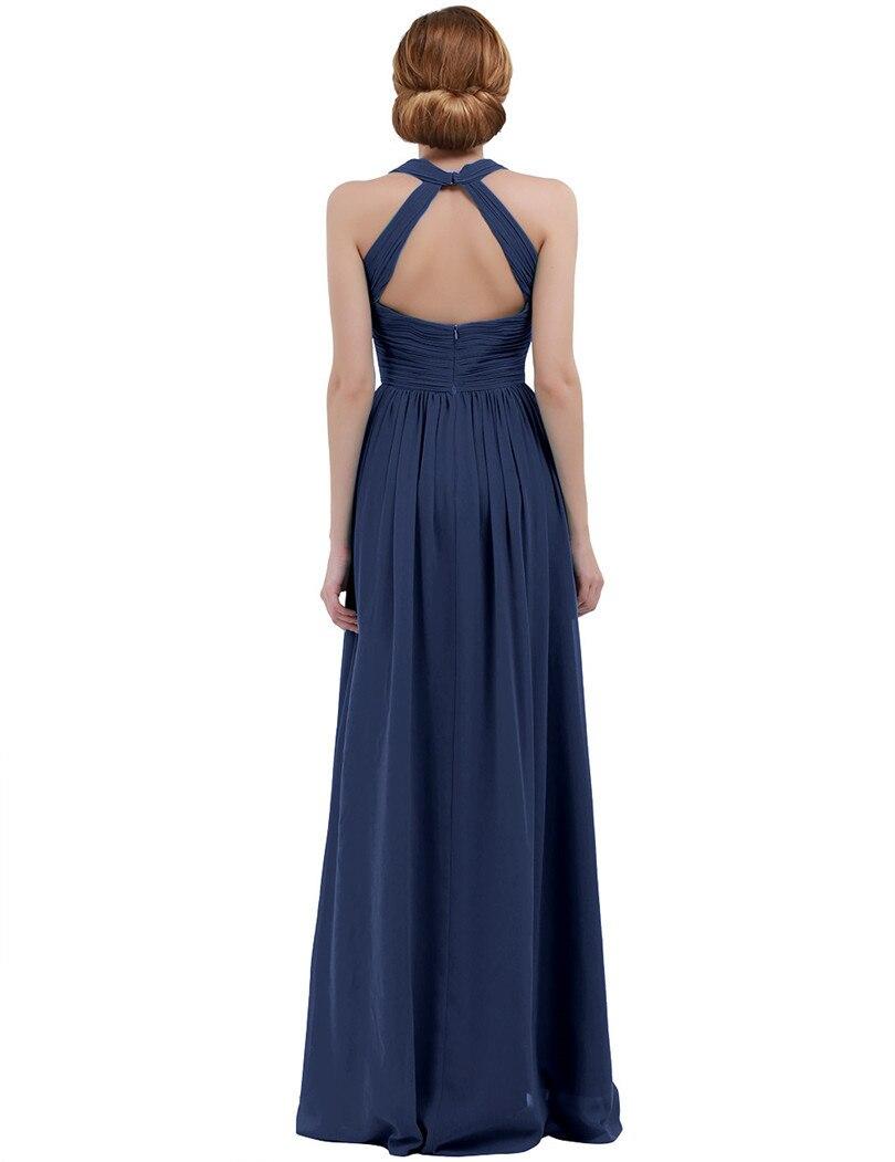 Femme demoiselle d/'honneur cocktail Soirée bal formelle longue robe maxi